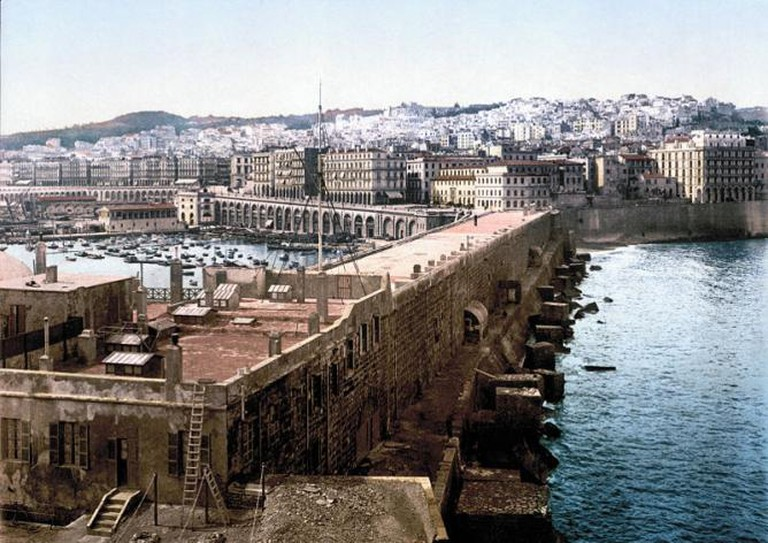 Algiers in the late nineteenth century, where Burton travelled to find a manuscript of The Perfumed Garden