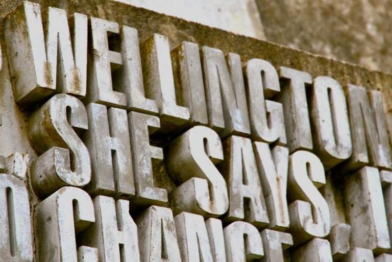 Wellington Writers' Walk | © Tony/Flickr