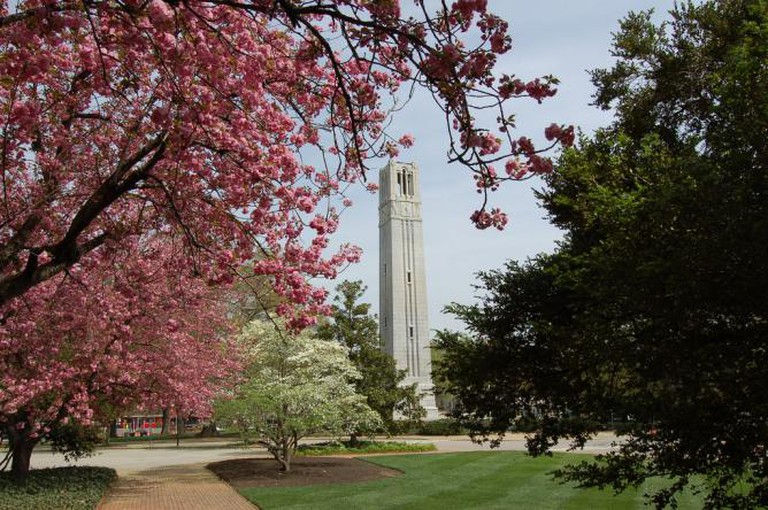 NC State's Bell Tower
