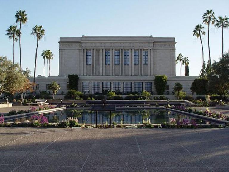 Arizona temple visitor's centre