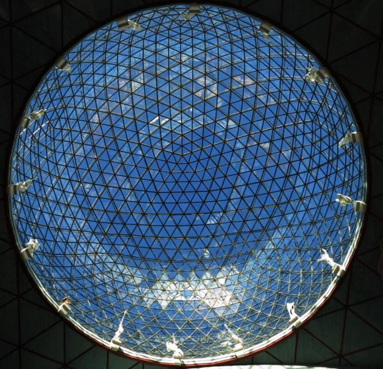 The Theater-Museum's dome