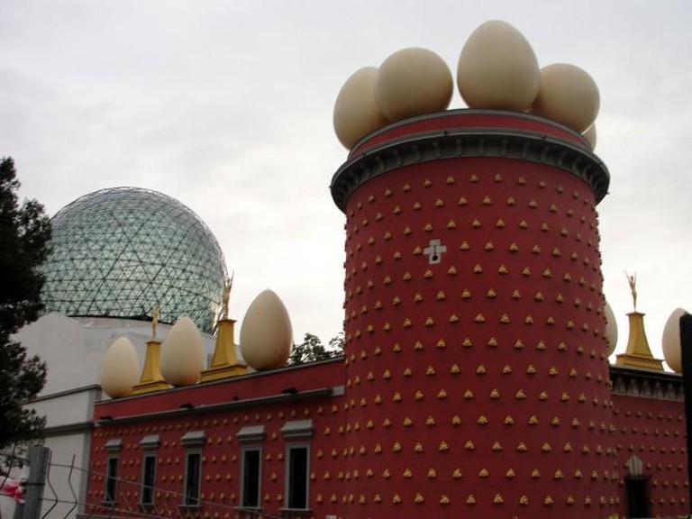 Another view of the Dalí Theater-Museum