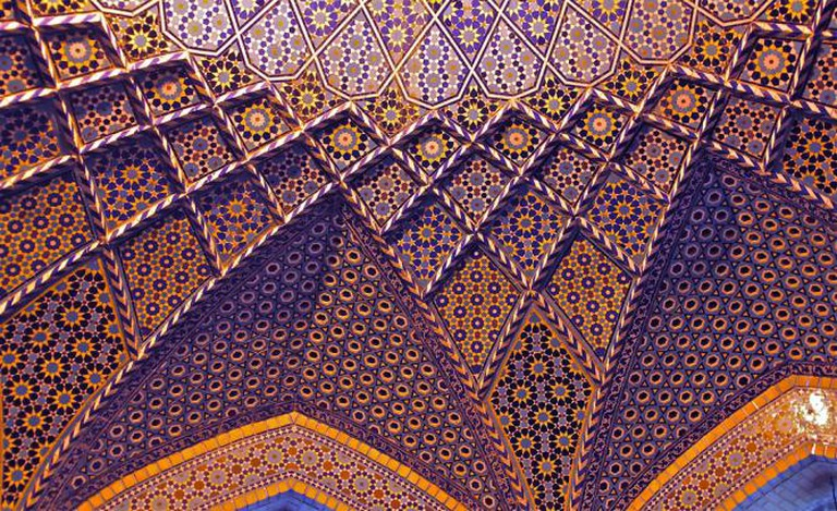 Roof of the Saadi Tomb