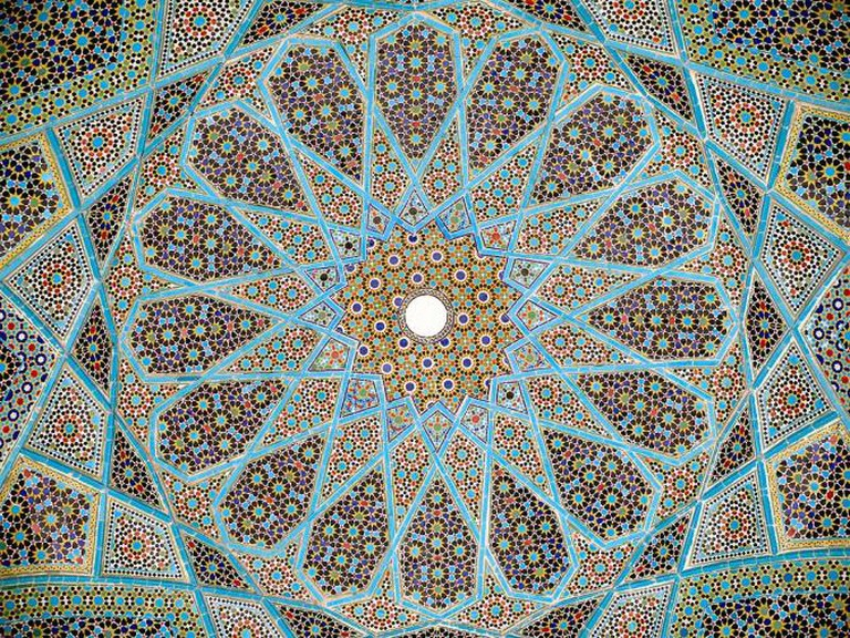 Roof of the Hafez Tomb