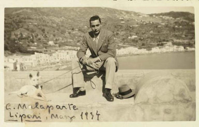 Malaparte in exile in Lipari |WikiCommons