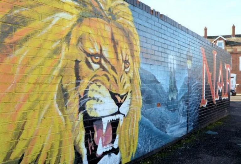 Narnia Mural