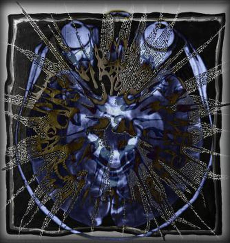 Katya Traboulsi, Free Thoughts, 2013, Lenticular – Light box, 80 x 80 cm, Edition of 3