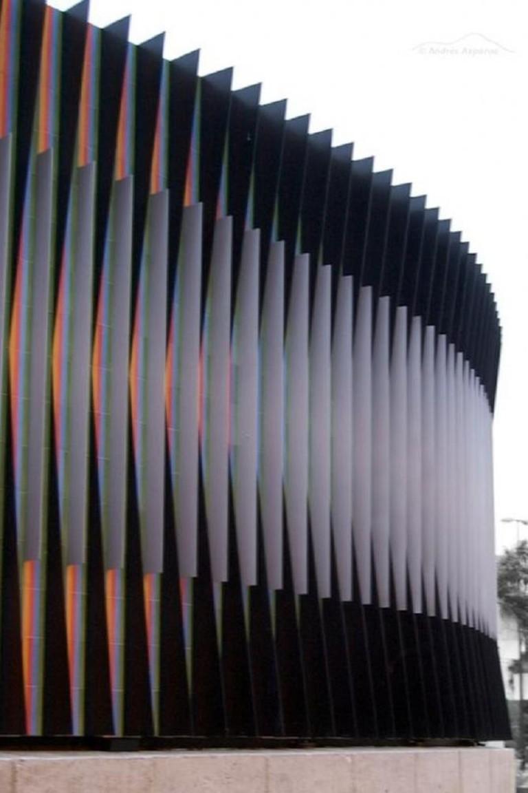 Carlos Cruz Diez Sculpture