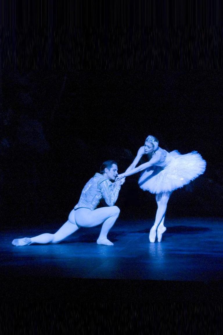 Agnes – White Swan with Thomas Edur in Swan Lake