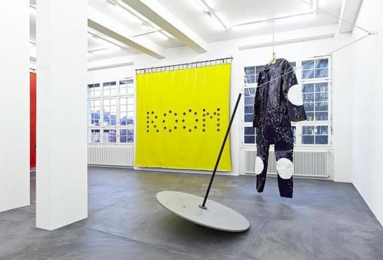 Exhibition view 'Blue Suit'. Galerie Bob van Orsouw. 18th January – 15th March 2014