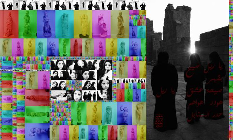 Ammar Al-Beik, The Lost City 1, 2008, Archival Print on Canvas, 108 X 180 cm, Edition of 3