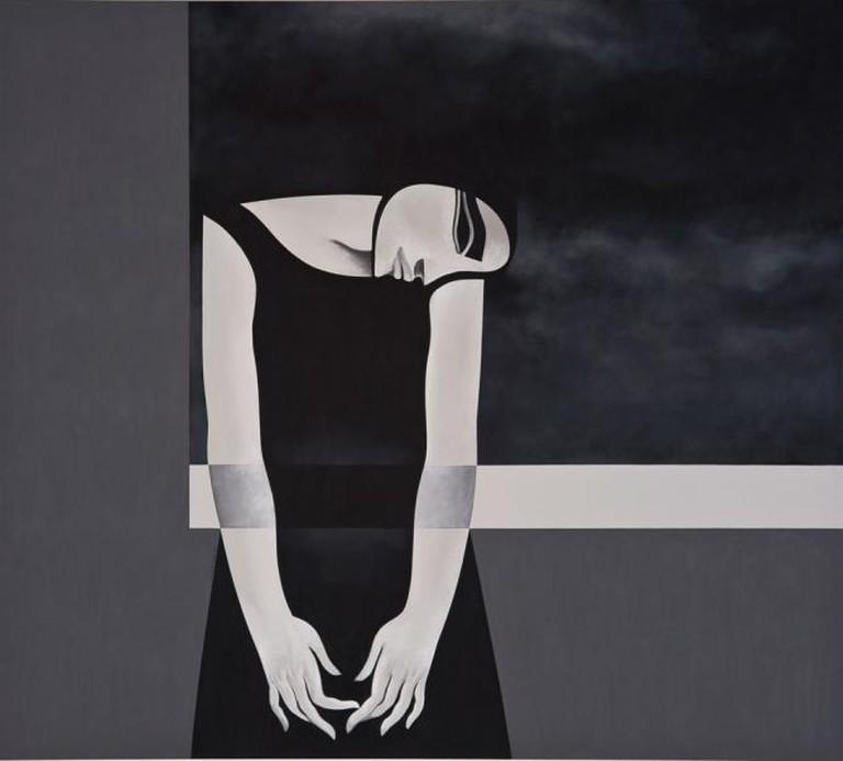 Safwan Dahoul, Dream 80, 2014, acrylica on canvas, 180 x 200 cm