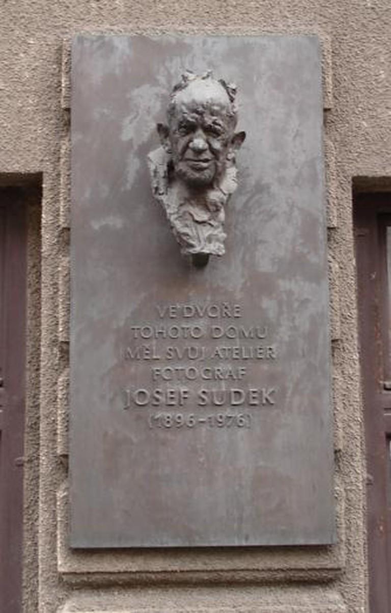 Josef Sudek Plaque