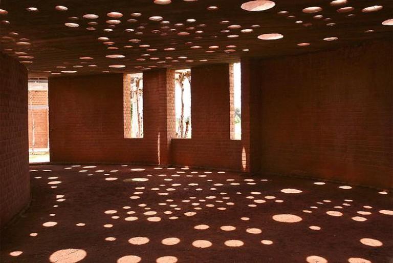 Kéré Library, Gando | © GandoIT/ WikiCommons