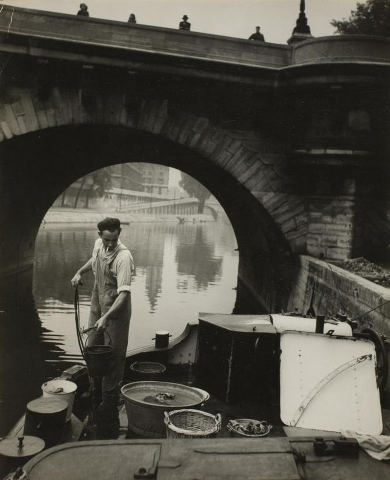 Fisherman Along the Seine, 1930/49. Gift from Leslie Stone Douglass | Courtesy of The Art Institute of Chicago