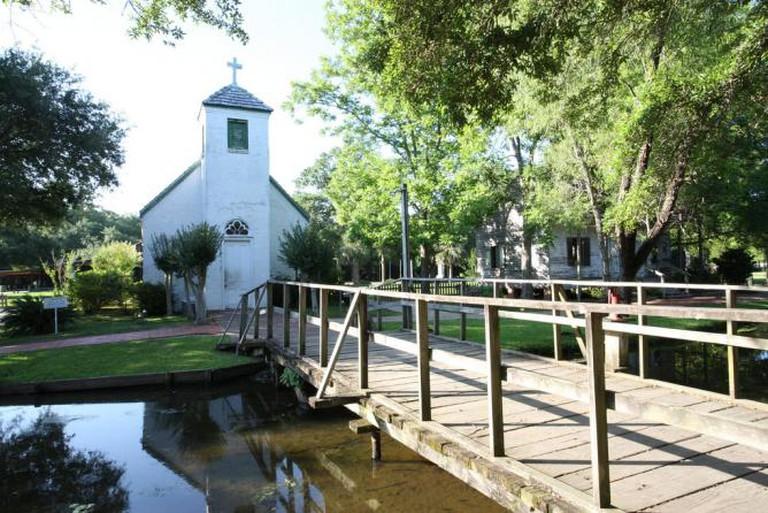 Acadian Village in Lafayette