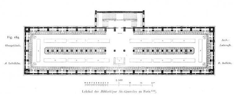 Bibliothèque Sainte-Geneviève Floorplan