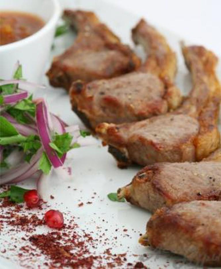 Beef dish | Courtesy Astana Nury