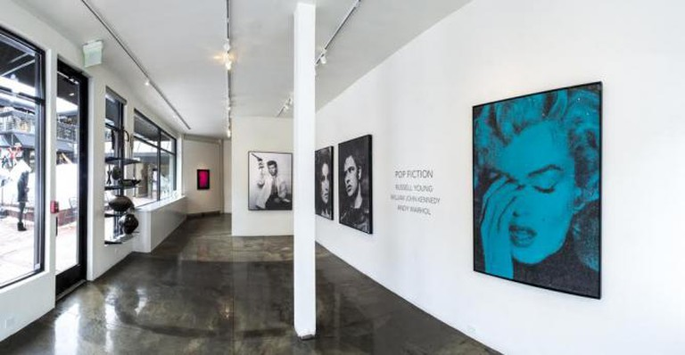 Pop Fiction Exhibition at 212 Gallery