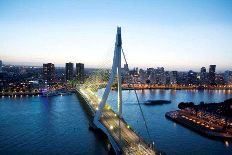 Erasmus Bridge | © Marc Heeman