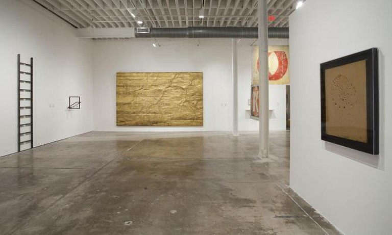 Installation view of Permission To Be Global at the CIFO Art Space, December 2013