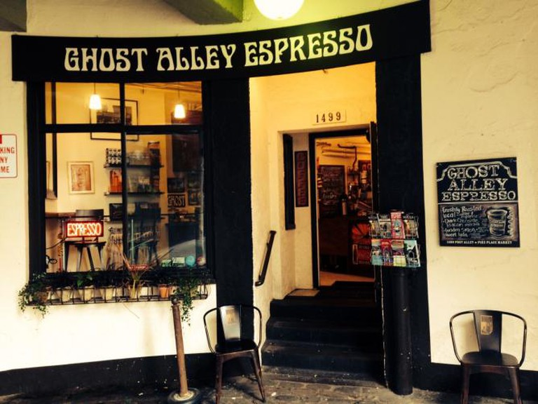ghost alley espresso seattle