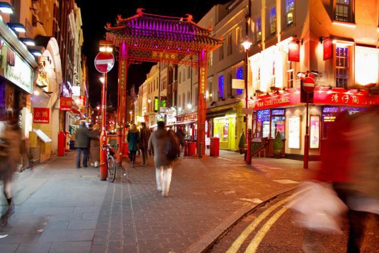 Chinatown in London's Soho