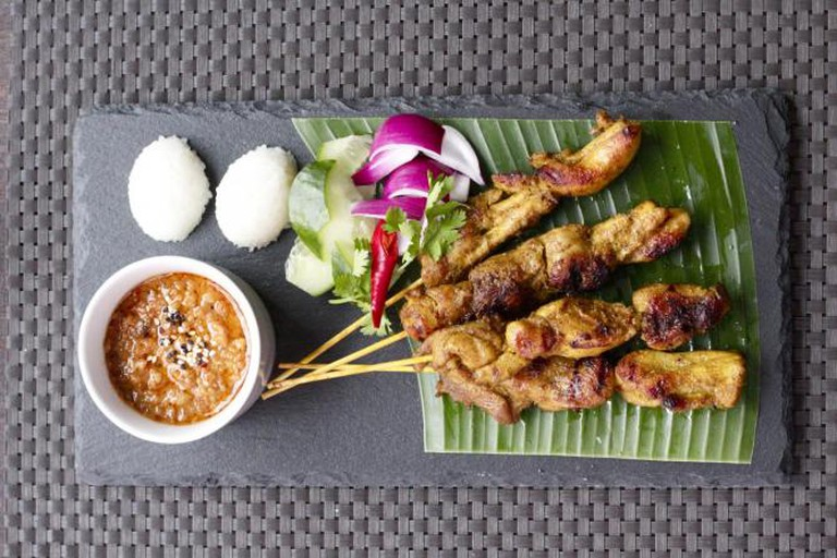 Chicken Satay from Ning