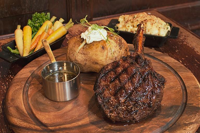 Bluestone Steakhouse signature dish | Courtesy Bluestone Steakhouse