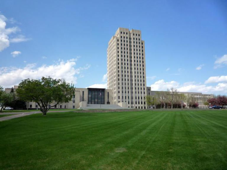 ND State Capitol Bismarck