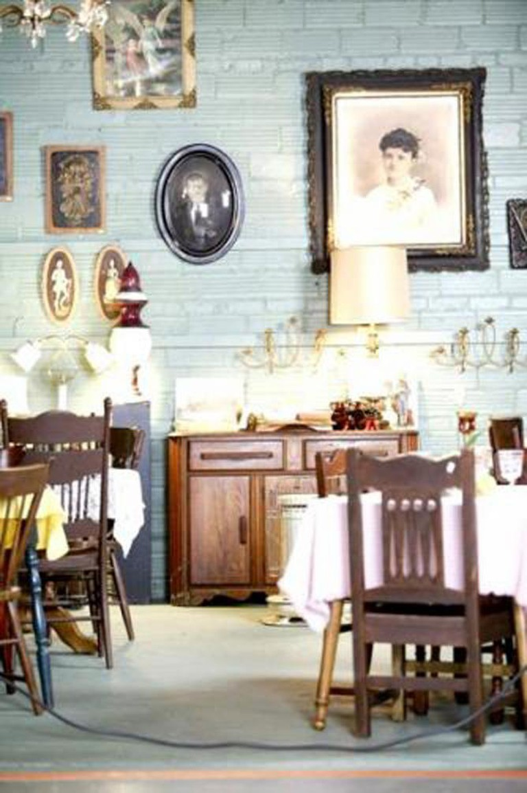 Zenith's interior and antiques | Courtesy Zenith Tea Rooms and Antiques