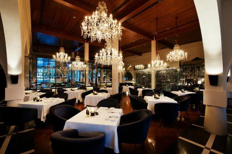 © The Restaurant at The Chedi Muscat