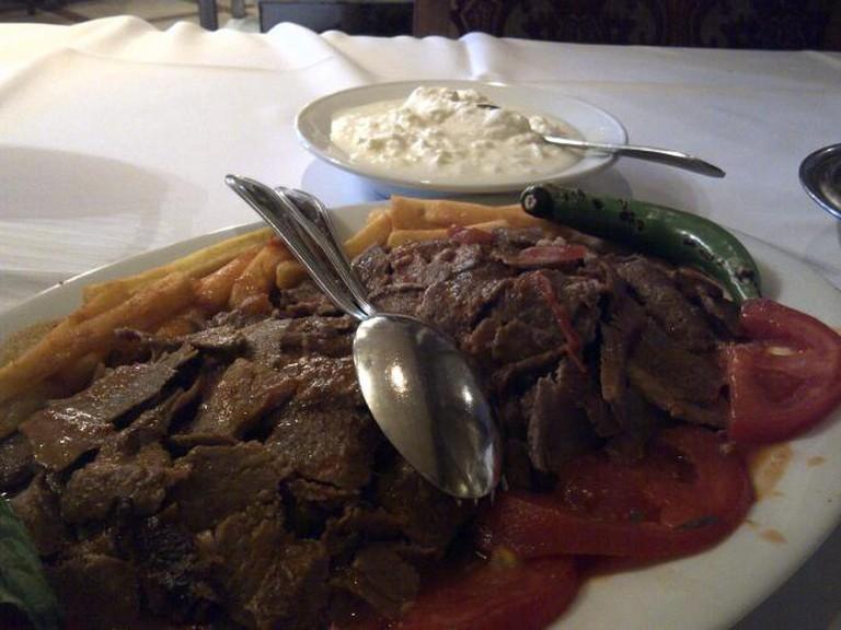 A signature dish at Yildizlar