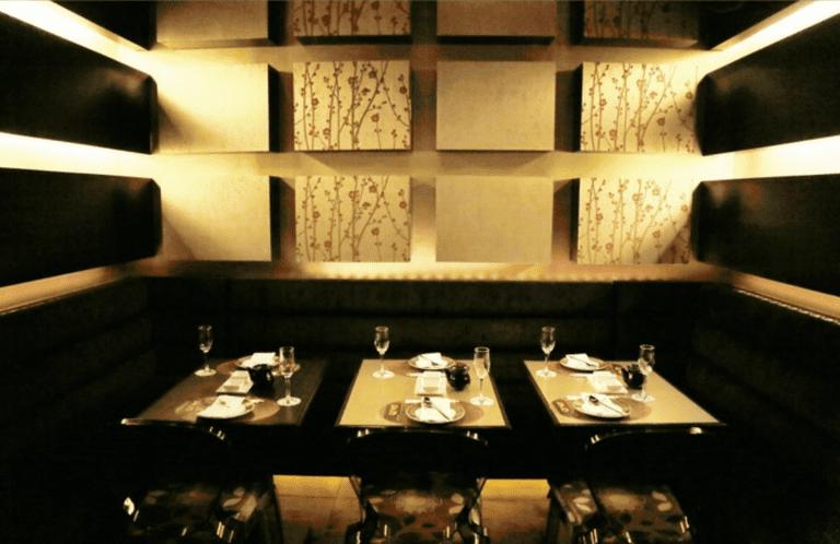 Gold Sushi Club interior