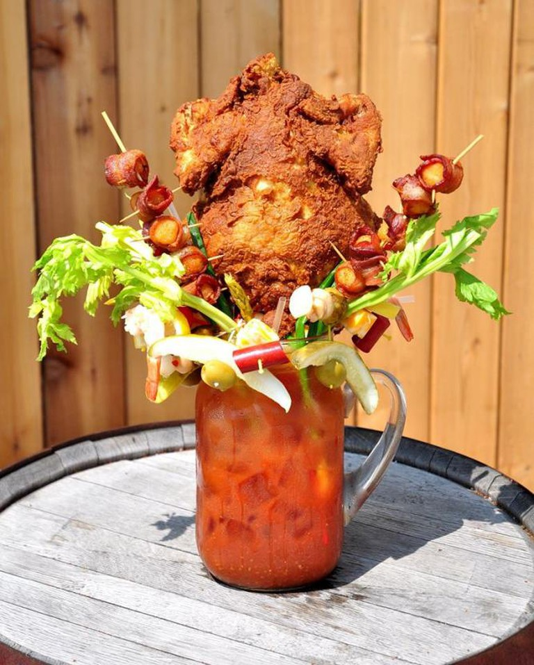 The Chicken-Fried Bloody Beast | Courtesy of Sobelman's