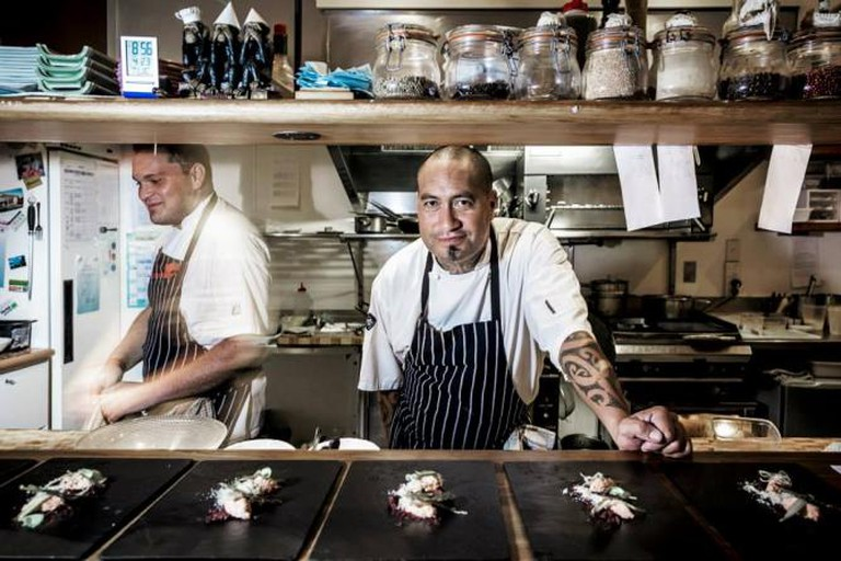 Head Chef Jeremy Rameka