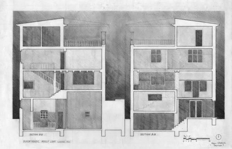 Rufer House Section