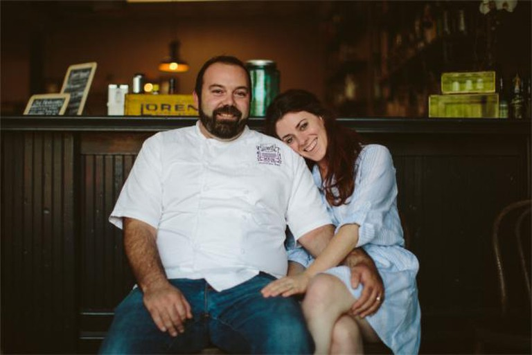 Chef Matthew Bell and Amy Bell