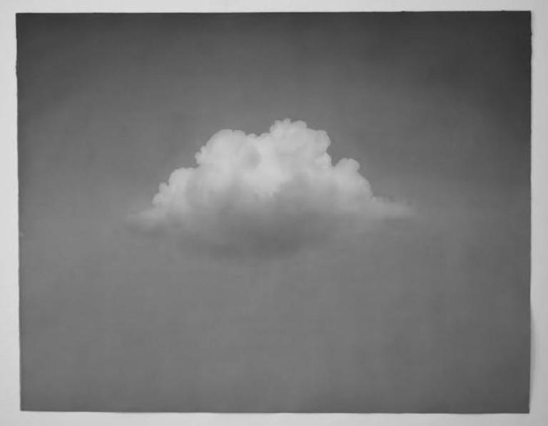 Ali Kazim, Untitled 6 (the storm series), watercolour pigments on paper, 125 x 102 cm, Grey Noise, 2013