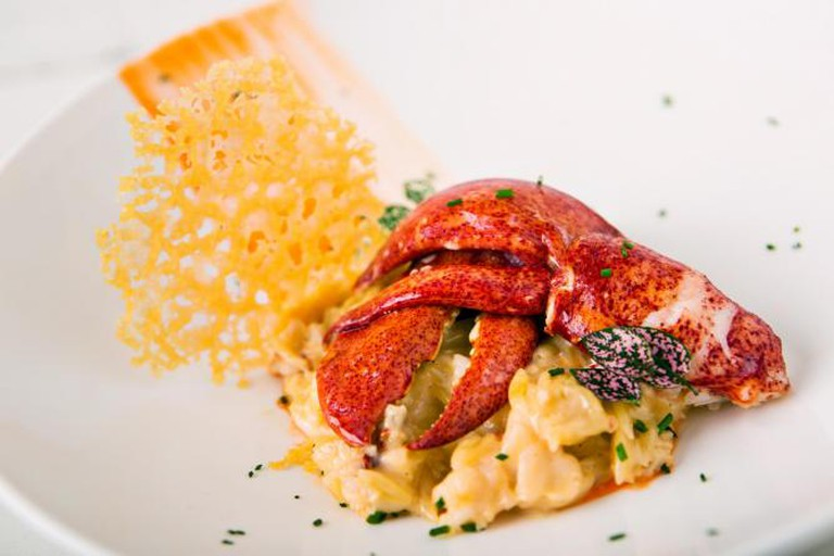 Butter Poached Lobster Mac & Cheese I