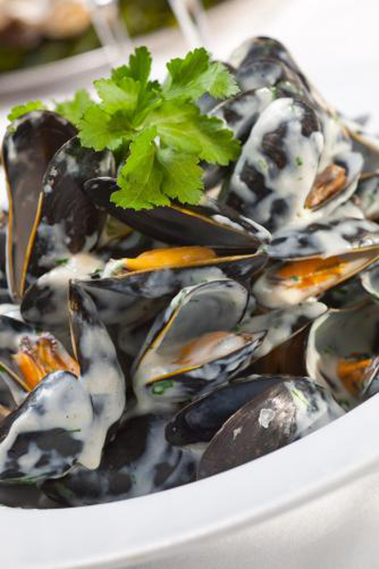 Mussels at Jack's Coastguard Restaurant