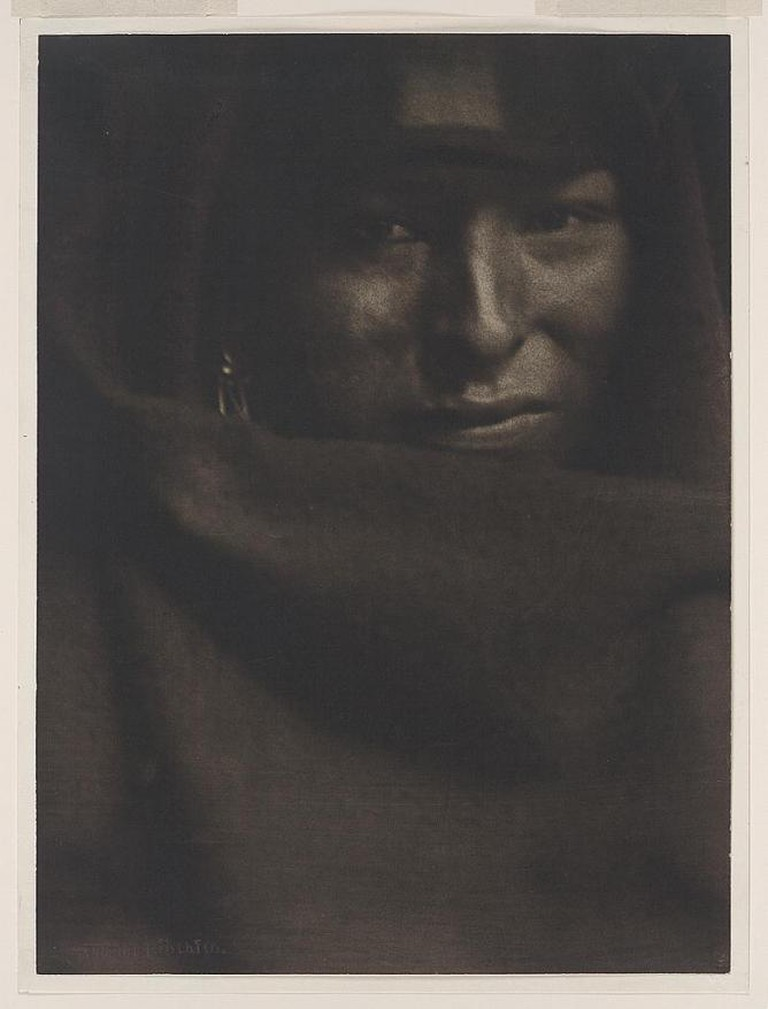 Gertrude Käsebier, The red man, 1902