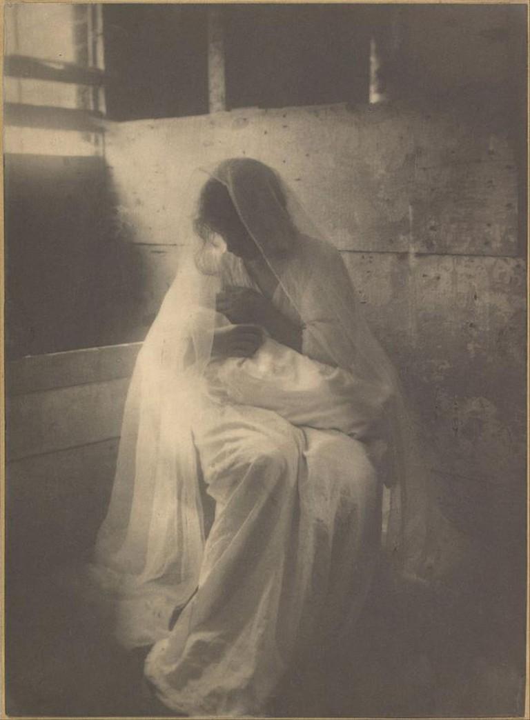 Gertrude Käsebier, The Manger, 1899