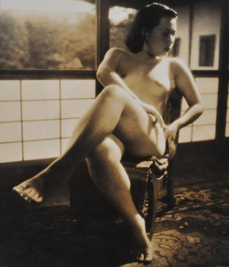 Yasuzō Nojima, Miss K., 1951, no. 247/NY-B72, gelatin silverl print. Collection of The National Museum of Modern Art, Kyoto