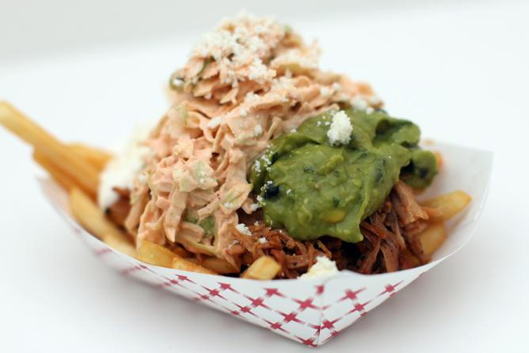 Carnitas Fries | Courtesy of TLT Food