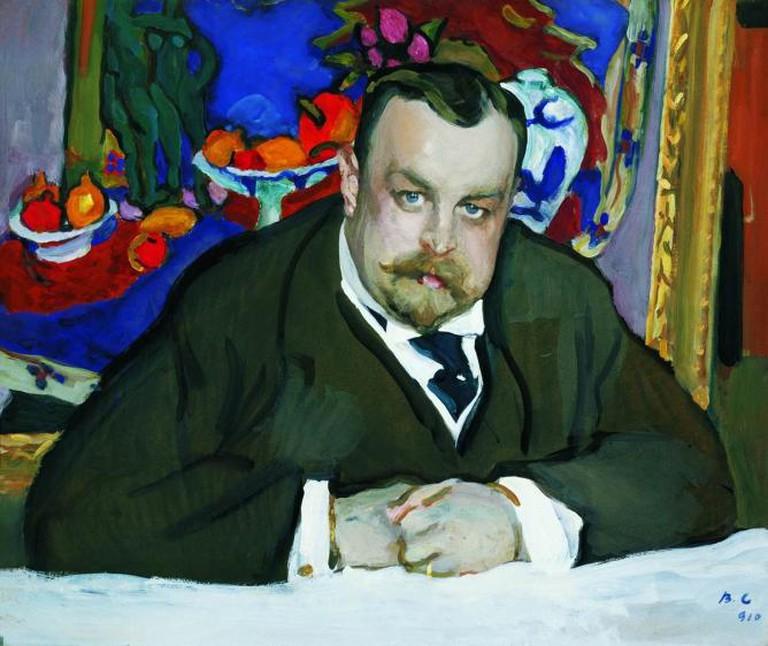 Portrait of Ivan Morozov
