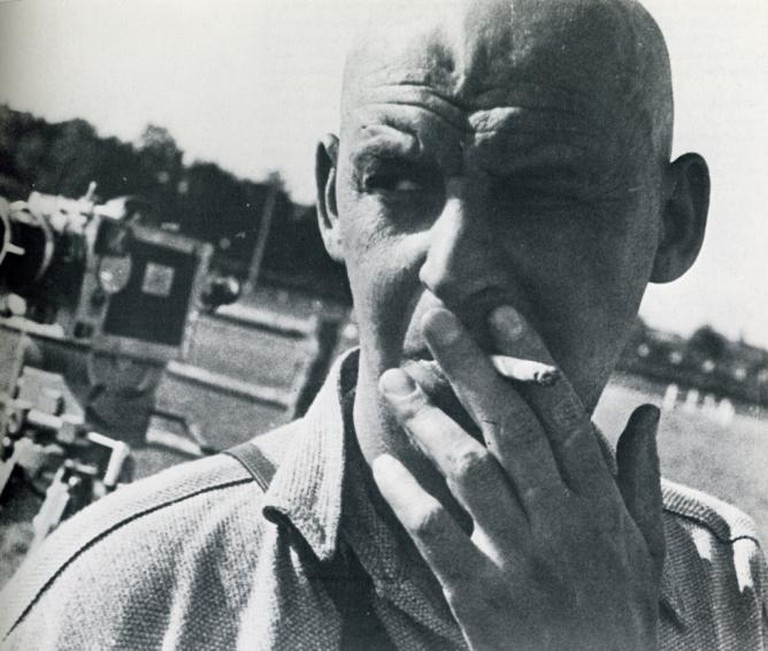 Portrait photograph of Alexander Rodchenko