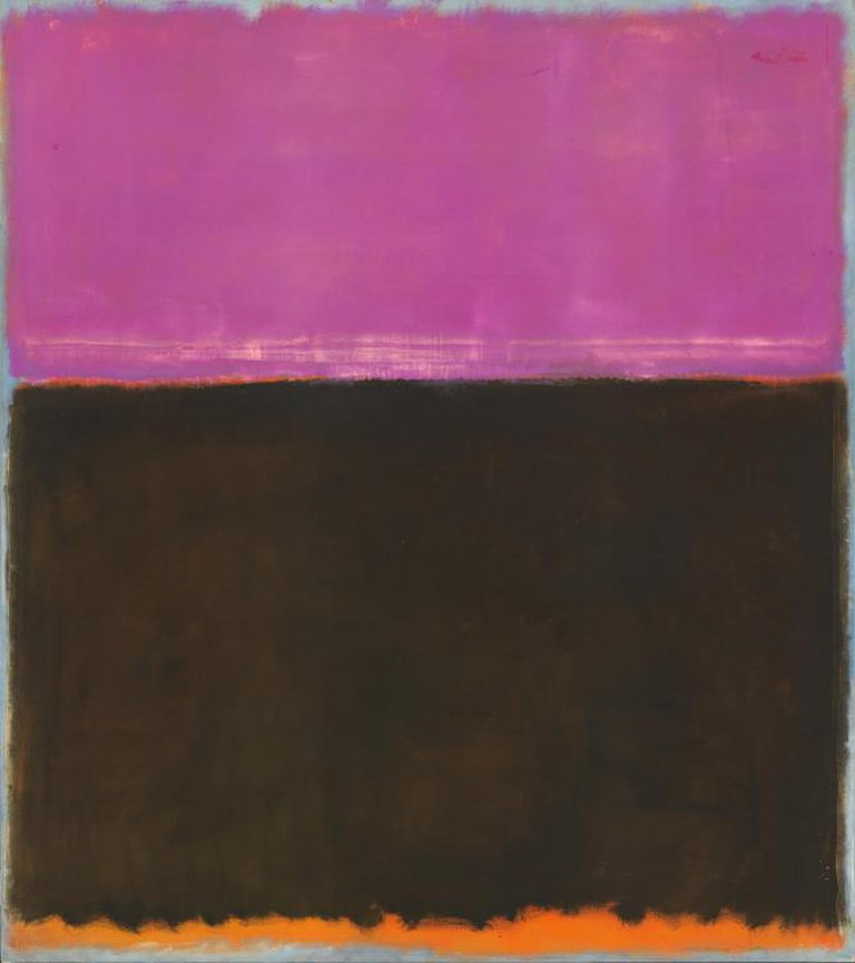 Mark Rothko, Untitled, 1953, mixed media on canvas