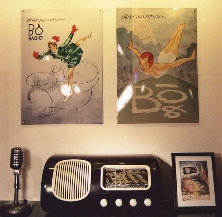 """Bang & Olufsen radio from 1938/39 ""Beolit 39"" | © Holger Ellgaard/WikiCommons"