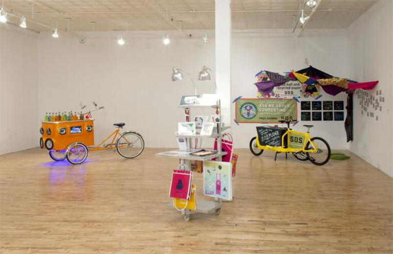 Interior View of Momenta Art | Image Courtesy the Gallery